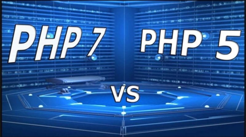 Difference between PHP5 and PHP7
