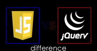 Difference between Jquery and JavaScript