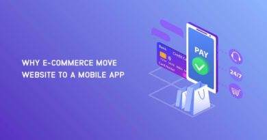 E-commerce Website Convert to a Mobile App