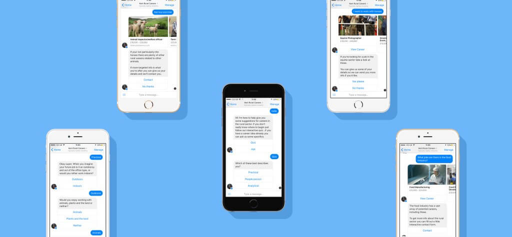 Chatbot apps for android
