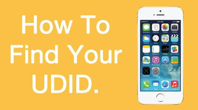 How To Find UDID on iPhone