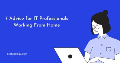Work From Home Advice for IT Professionals