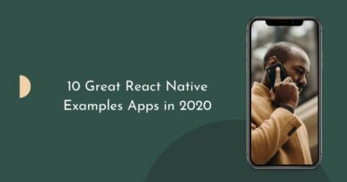 Great React Native Examples Apps