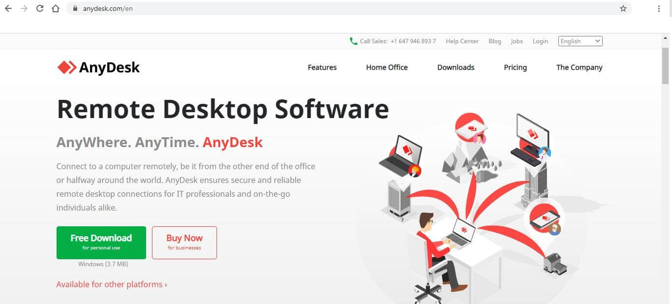 AnyDesk Remote Desktop Software