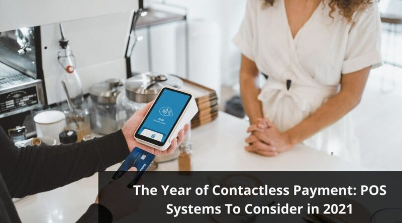 Contactless Payment Using POS Systems